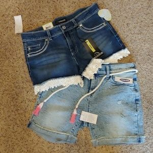 2 pair 1. Jordash /1.  Old Navy Shorts